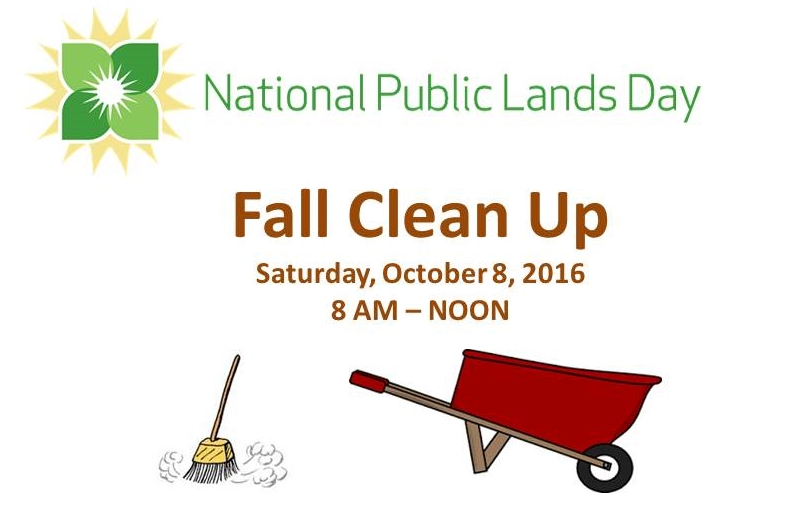 2016 National Public Lands Day - Work Day
